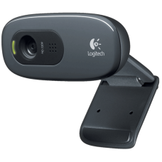 Camera WebCam Video Conferência Logitech C270