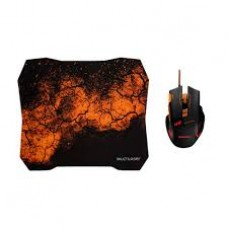 Combo Gamer Mouse com Mouse Pad MO256 Multilaser