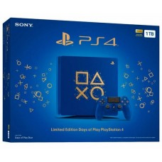 Console Playstation PS4 Slim 1Tb Blue Days of Play Edition