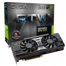 Placa de Vídeo PCI-Express 3 Gb GF GTX1060 FTW+ Gaming 1632 MHz 192 Bits DDR5 EVGA
