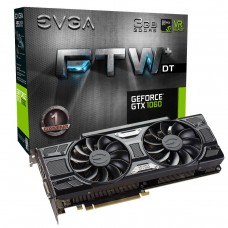 Placa de Vídeo PCI-Express 3 Gb GF GTX1060 FTW+ DT Gaming 1506 MHz 192 Bits DDR5 EVGA