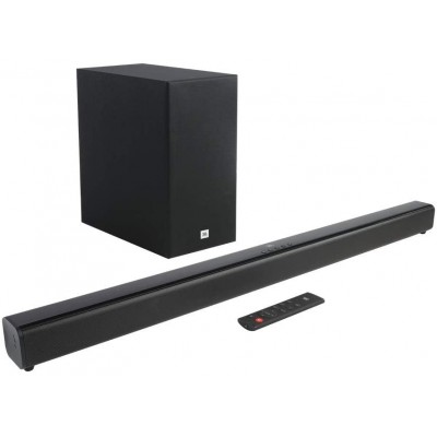 Soundbar JBL SB160 2.1 Canais com Subwoofer Wireless Potência Total 220W